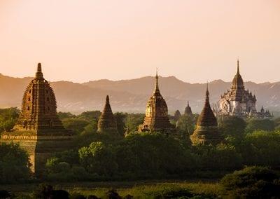 myanmar bagan temples light burma travel Pagan Kingdom