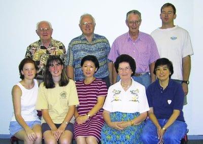 Riverstone Staff 2001
